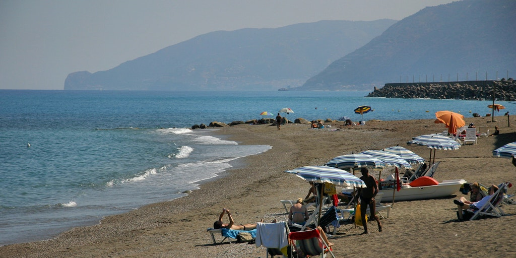 The beach at the port of Borgo San Gregorio