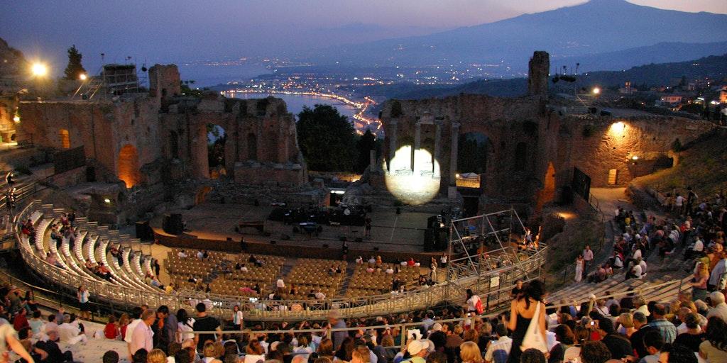 Ein Konzert im griechischen Theater