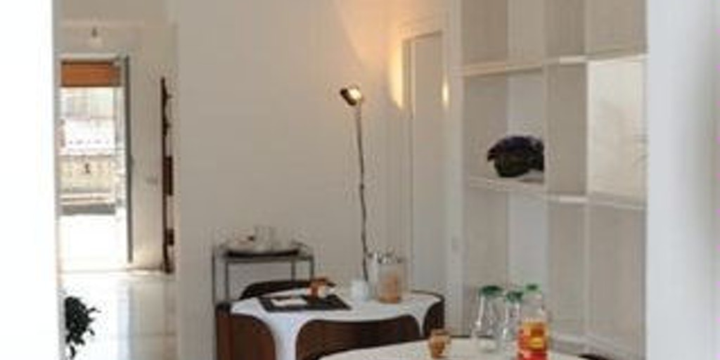 La salle de petit-déjeuner et les espaces communs