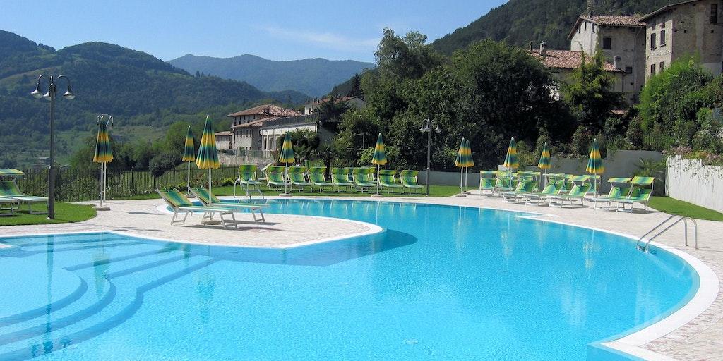 La piscine the Hotel Sole & La Fenice