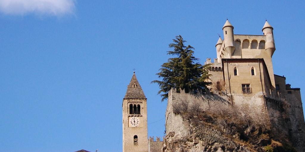 Saint-Pierre im Herzen des Aosta-Tals