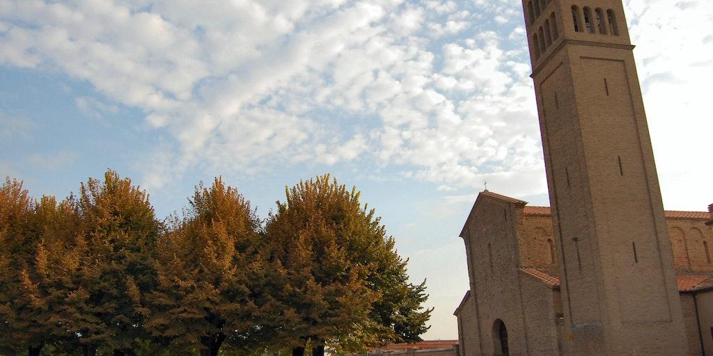 Die Kirche Pieve di San Pancrazio in San Pancrazio di Russi