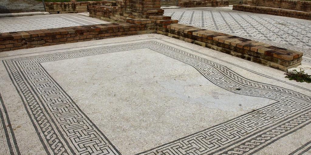 Überreste der römischen Villen (in der Umgebung)