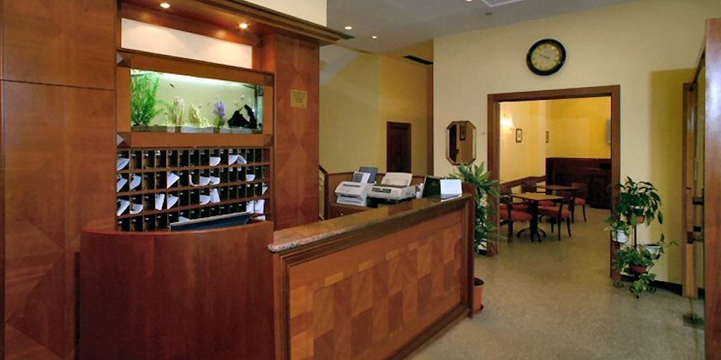 Reception at Hotel Astoria