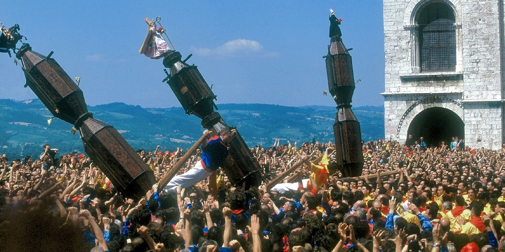 Le festival folk de Gubbio