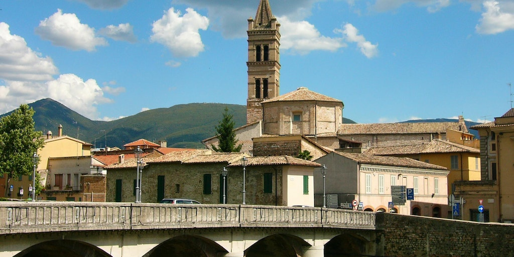 One of Umbria's many small towns