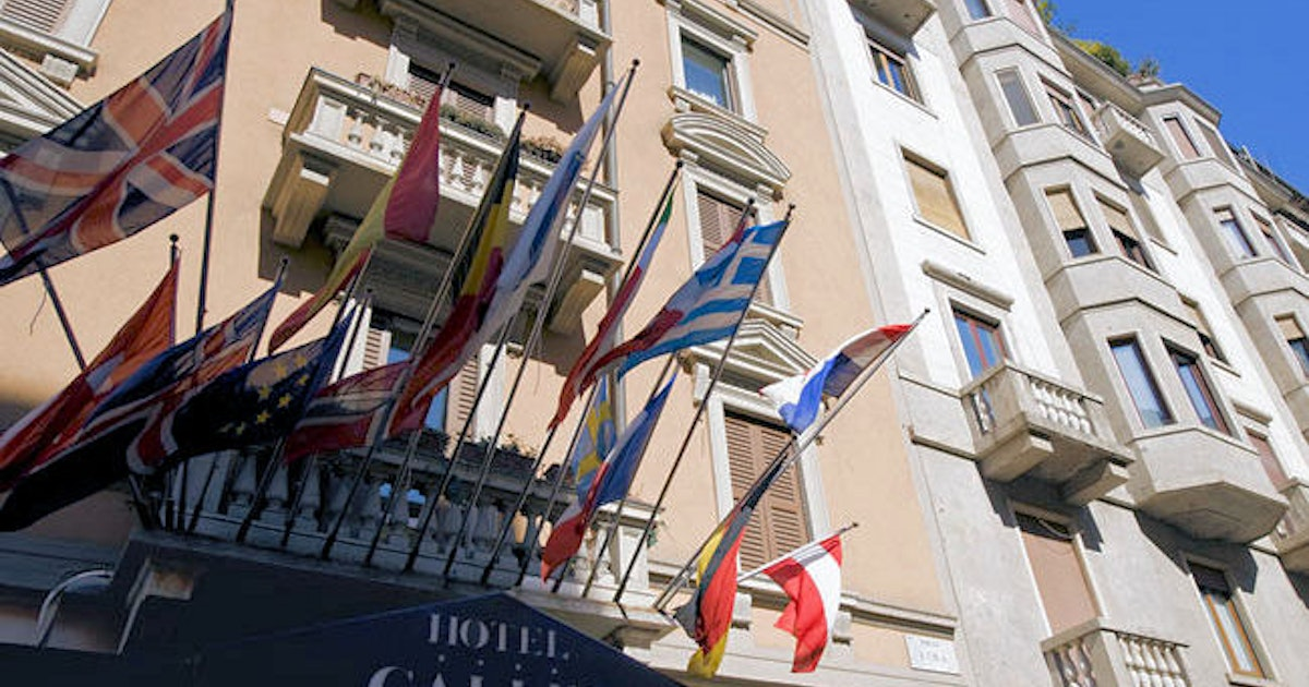 Hotel galles hotell i milano for Hotel galles milano