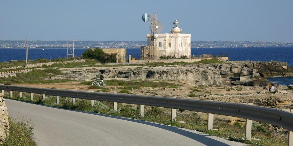 Fyretårnet ved Punta Marsala