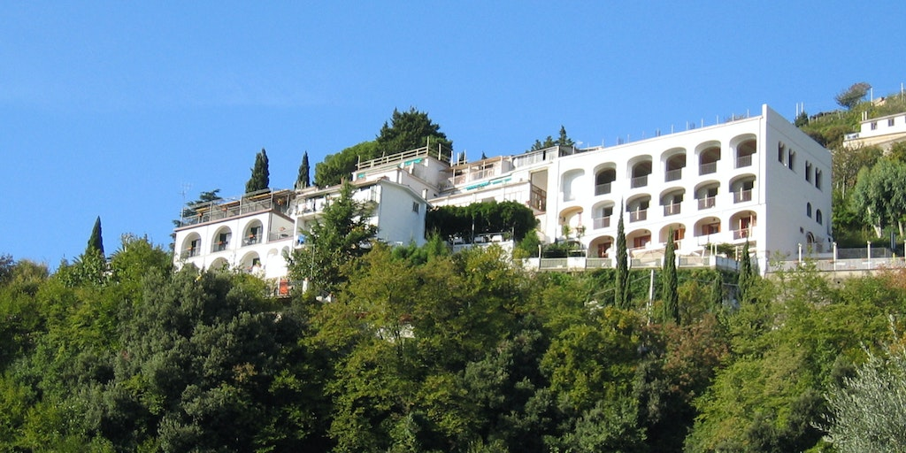 The hotel seen from Scala
