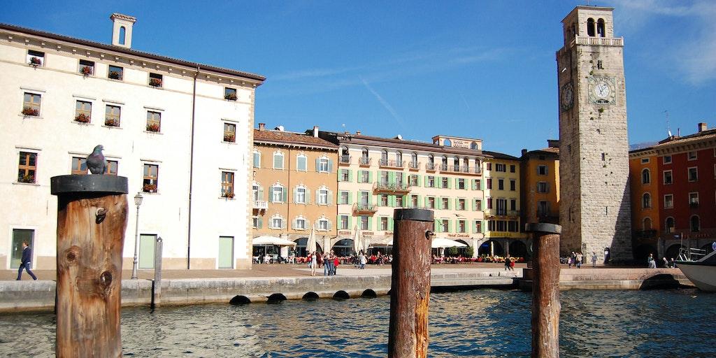 Hafen in Riva del Garda