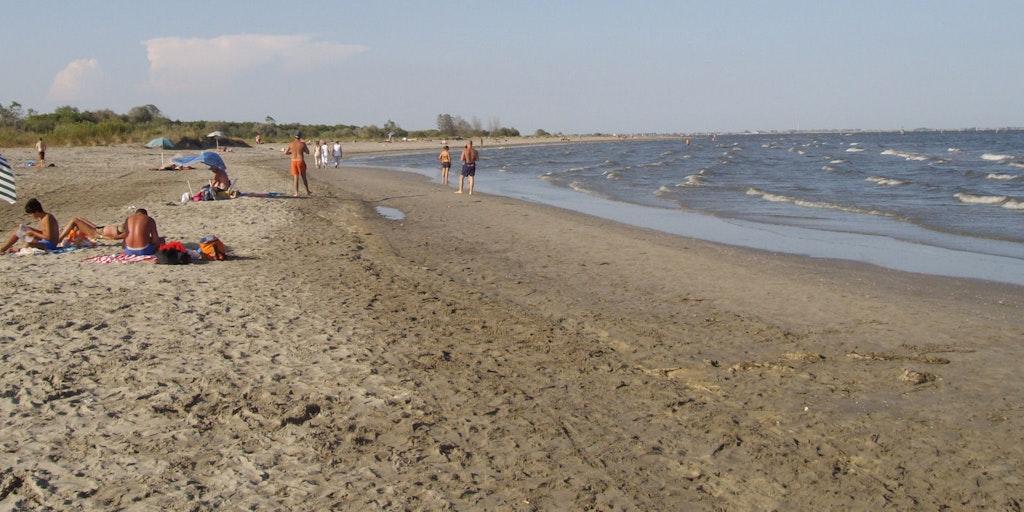 Beach at Lido di Volano