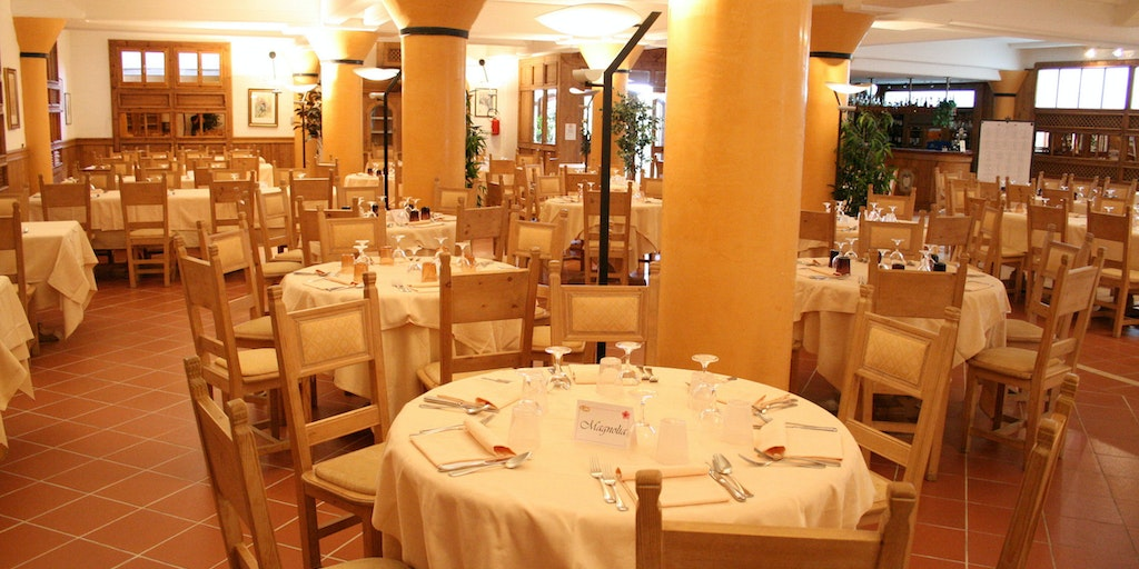 Restaurant at Albergo Villa Nencini