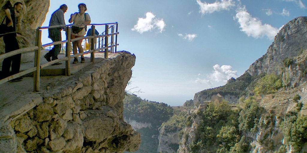 Turgåing på Sentieri degli dei på Amalfikysten