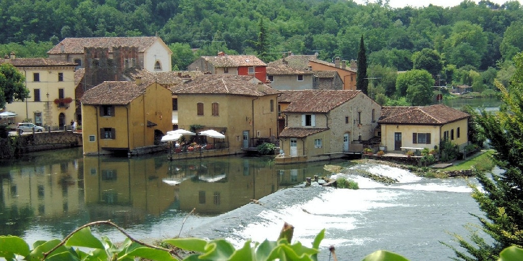 The small village of Il Borghetto