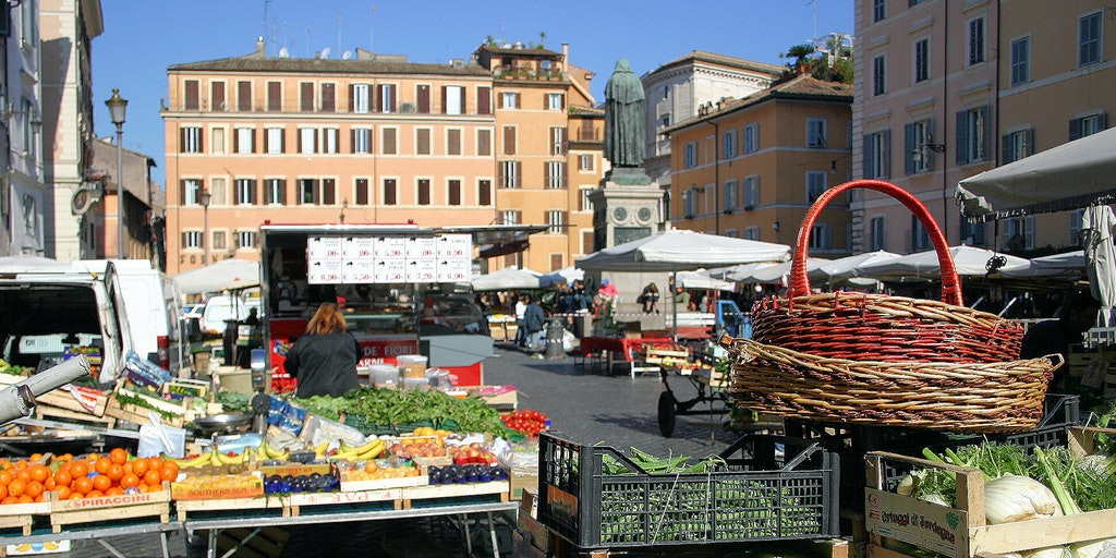Campo de' Fiori i Rom