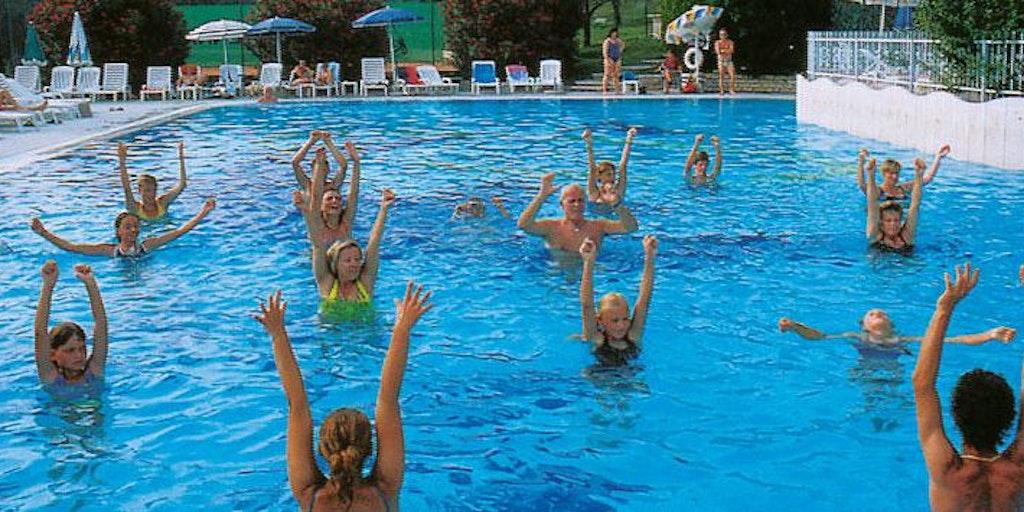 Swimming pool at Residence Arca sul Garda