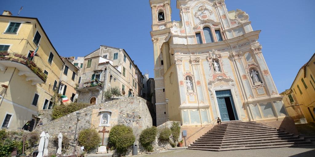 The Baroque church o Giovanni dei Corallini
