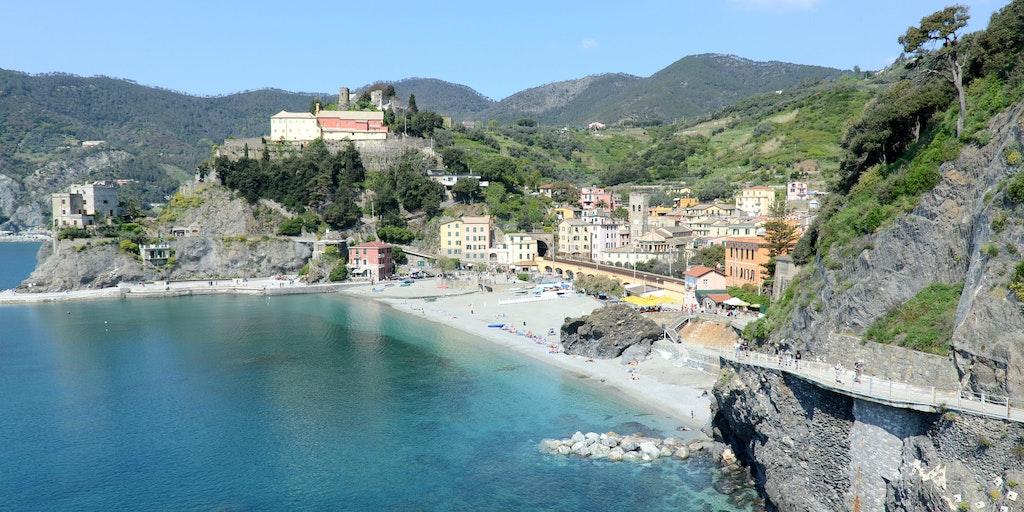 Monterosso im Nationalpark Cinque Terre