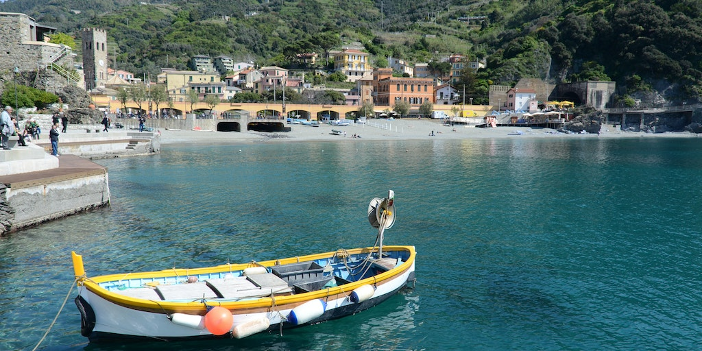 Monterosso's old town