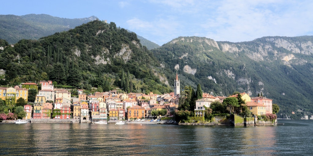 Varenna as seen from the water