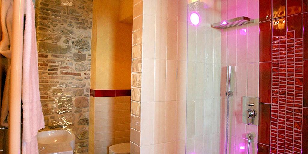 Salle de bain de la chambre double Luxury