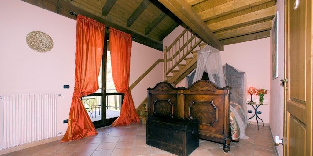Zimmer Dafne mit Terrasse