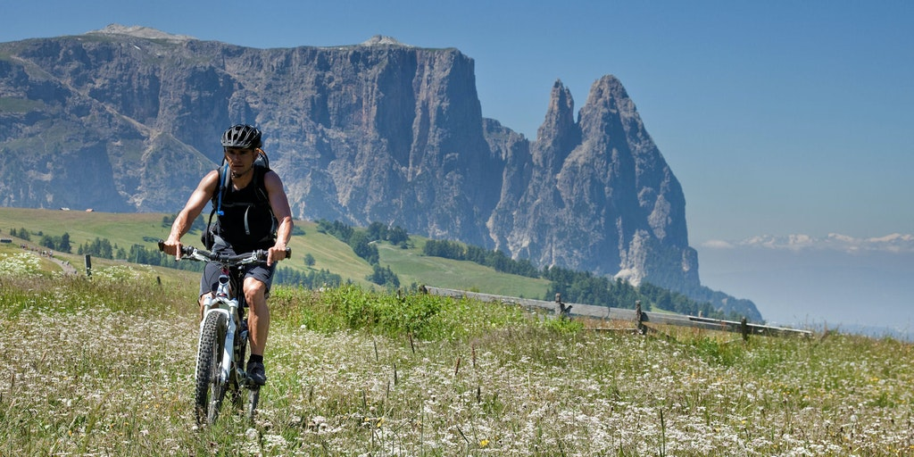Dolomites offers many types of active holidays