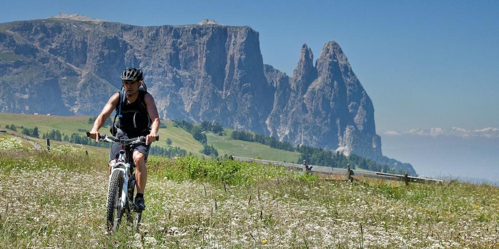 Die Dolomiten bieten viele Möglichkeiten für einen aktiven Urlaub an