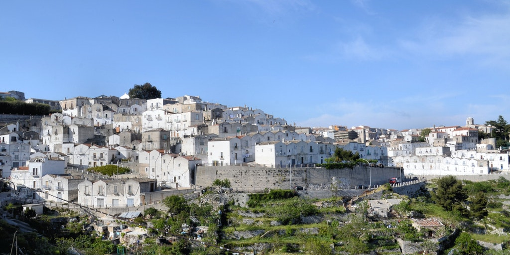 Mountain city of Monte Sant'Angelo