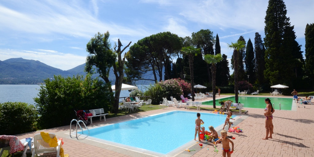 Access to the swimming pool and children's pool in private gardens which are shared with other residents