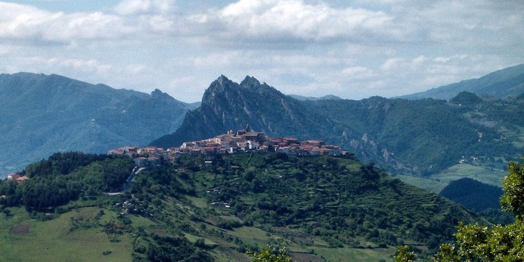 La ville de Trivigno
