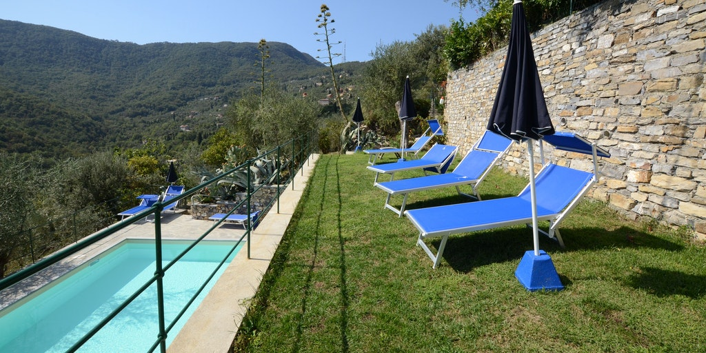 Villa Pool Santa Margherita Ligure