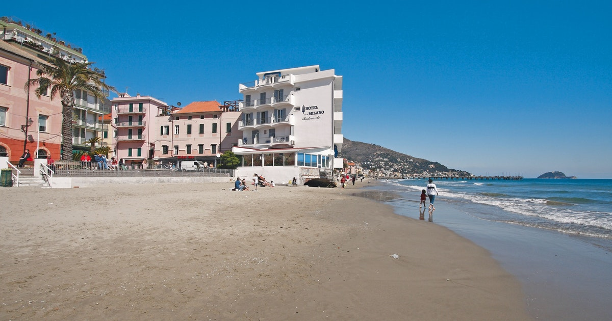 Hotel milano ferie i alassio liguria in for Hotel liguria milano