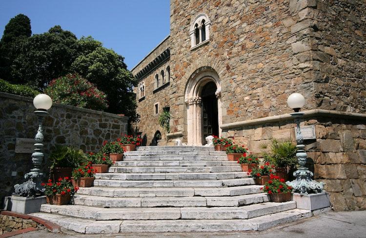 Grand Hotel Dei Castelli Hotel In Sestri Levante In Cinque Terre