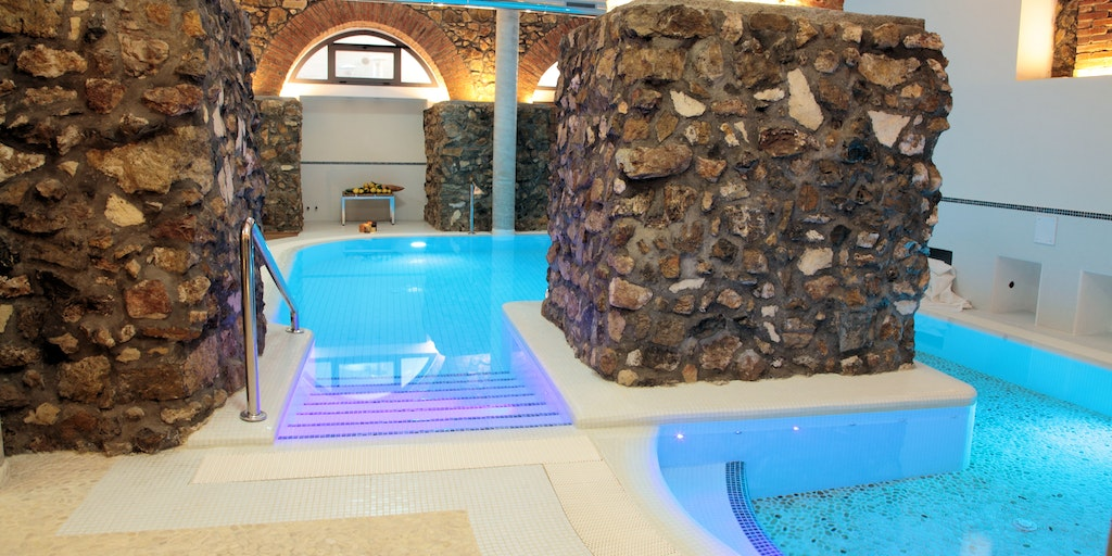 Swimmingpool i wellnesscenter