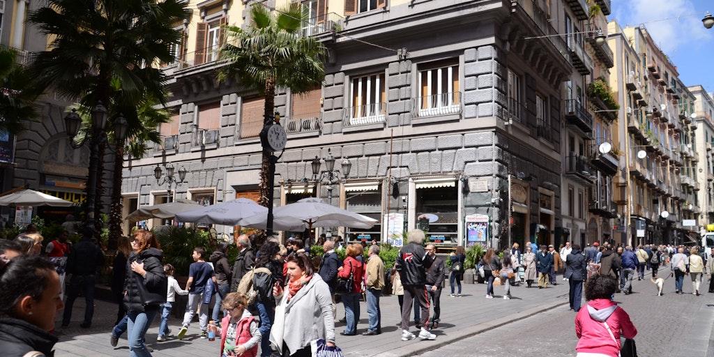 Via Toledo i Napoli