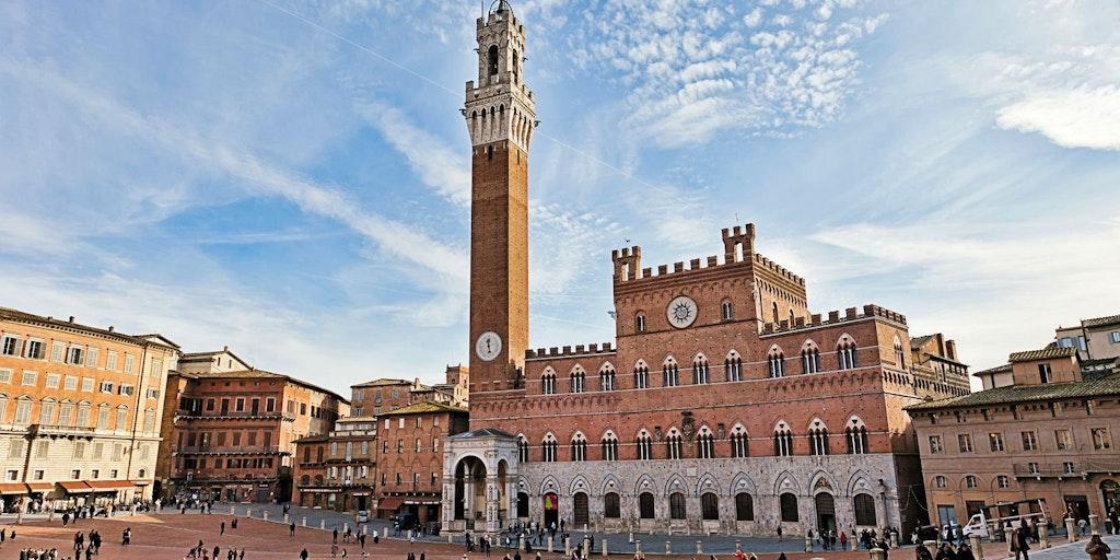 Piazza del Campo i Siena