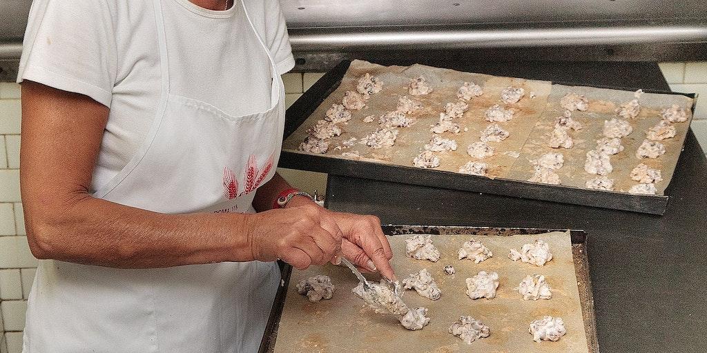 Le boulanger du village