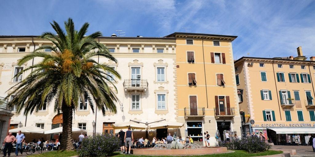 Zentrum in Riva del Garda