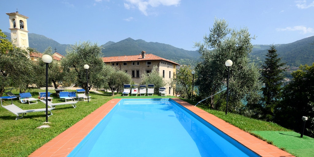 Historic property with a swimming pool