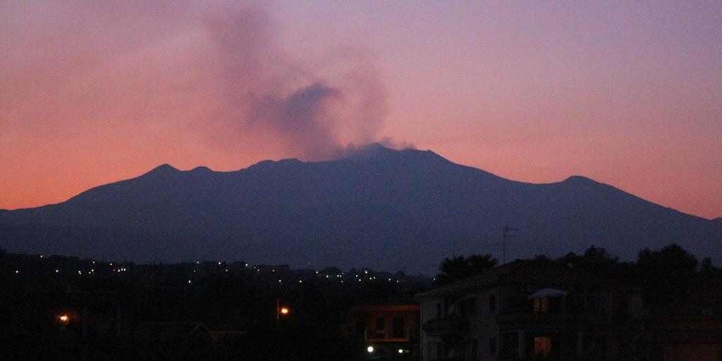 Udsigt over Etna