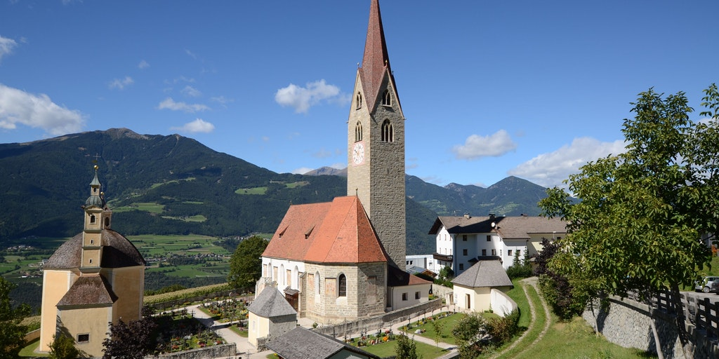 Kirken i landsbyen Sant'Andrea