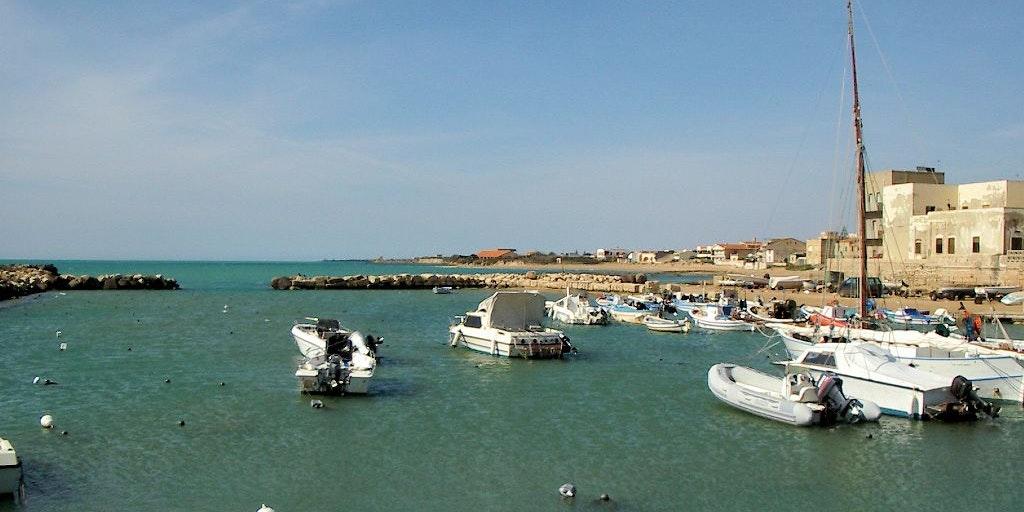 Le port de Punta Secca