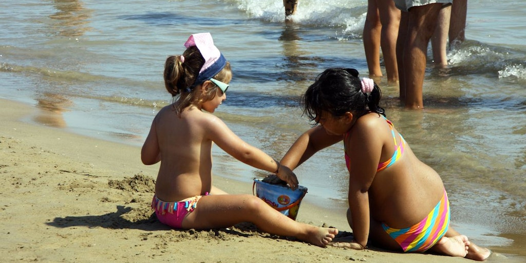 Bathing holidays, your kids will love