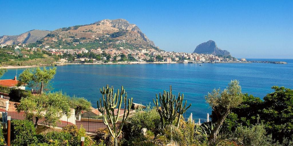 Die herrliche sizilianische Landschaft