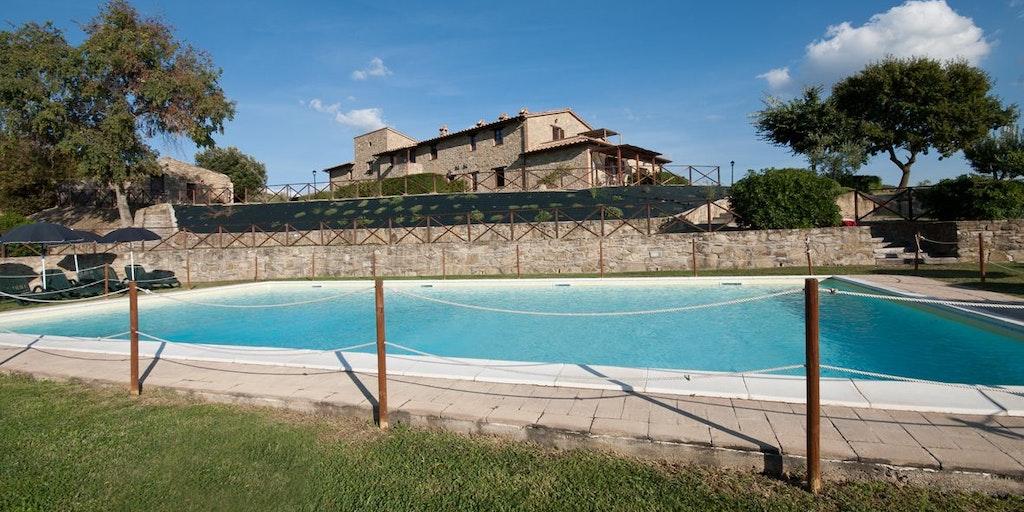 <p>La piscine de Forte Sorgnano</p>