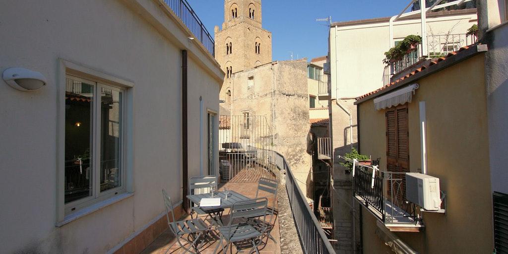 Terrace for apartment Guglielmo