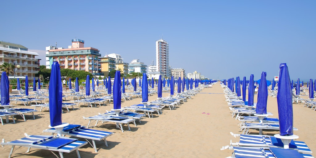 Beach at Lido di Jesolo