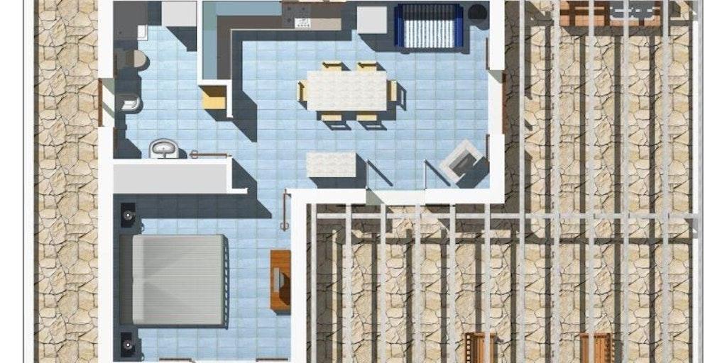Planritning - första våningen