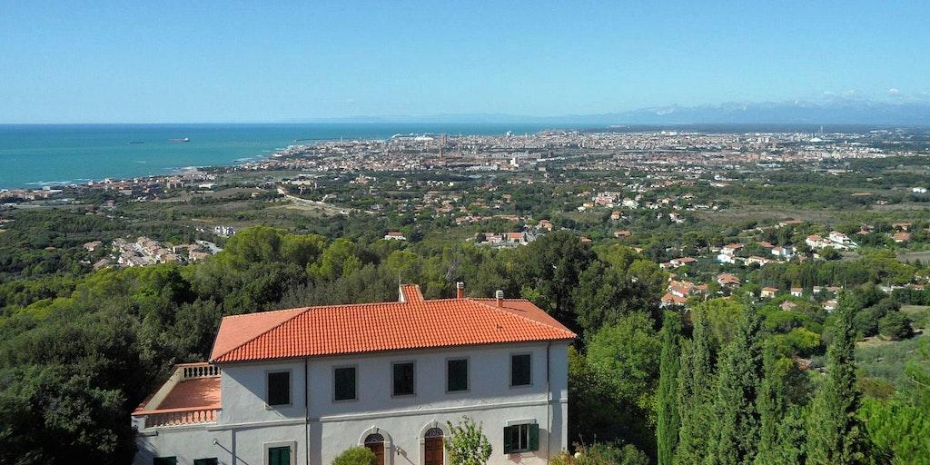 View towards Livorno